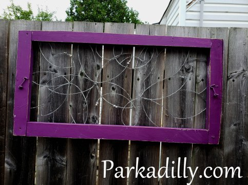 Parkadilly Wild Flowers in recycled window frame Available for $65 One of a kind, hand twisted and made with love! To purchase one of our original designs comment SOLD on the photo of the piece that has caught your eye and email Parkadilly@live.ca to complete your order. Local pick up available in Cobourg, Ontario Shipping available throughout Canada and the US - Pricing is based on the specific piece - its size weight and final destination. Parkadilly Artwork is protected under copyright law. Do not attempt to duplicate my original designs, edit the photos or remove the website watermark